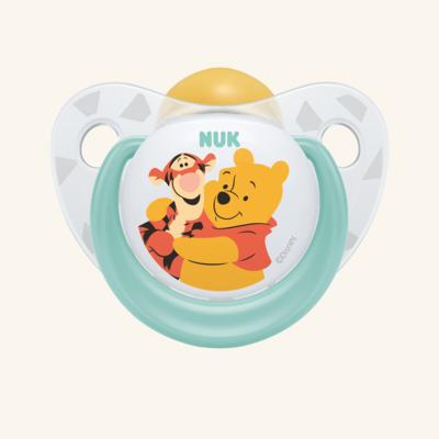 NUK | Chupeta Disney Winnie the Pooh (Látex, 6-18m) x 2