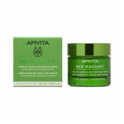 Apivita | Bee Radiant Creme Sinais de Envelhecimento & Antifadiga Textura Rica 50ml