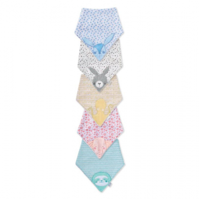 "Saro | Mini Baby Foulard ""Wild Colors"""