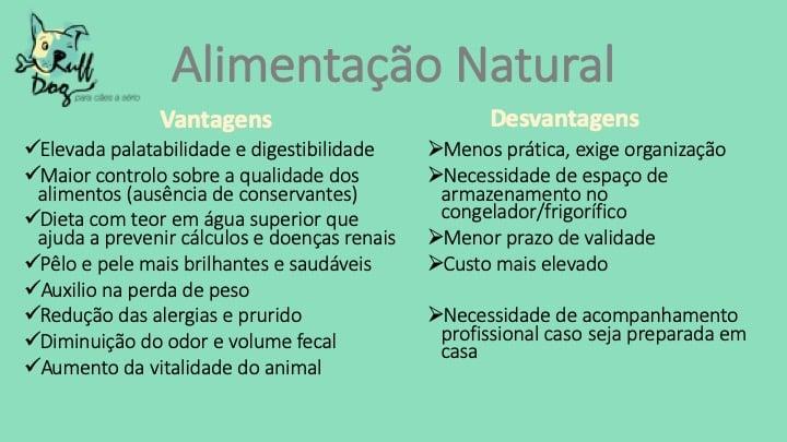Alimentação Natural: Vantagens e desvantagens