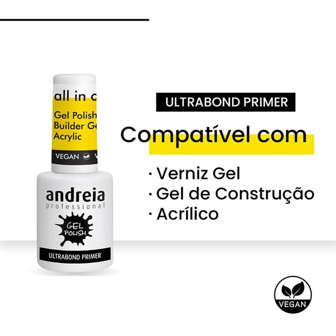 Verniz Gel Andreia - Ultrabond Primer