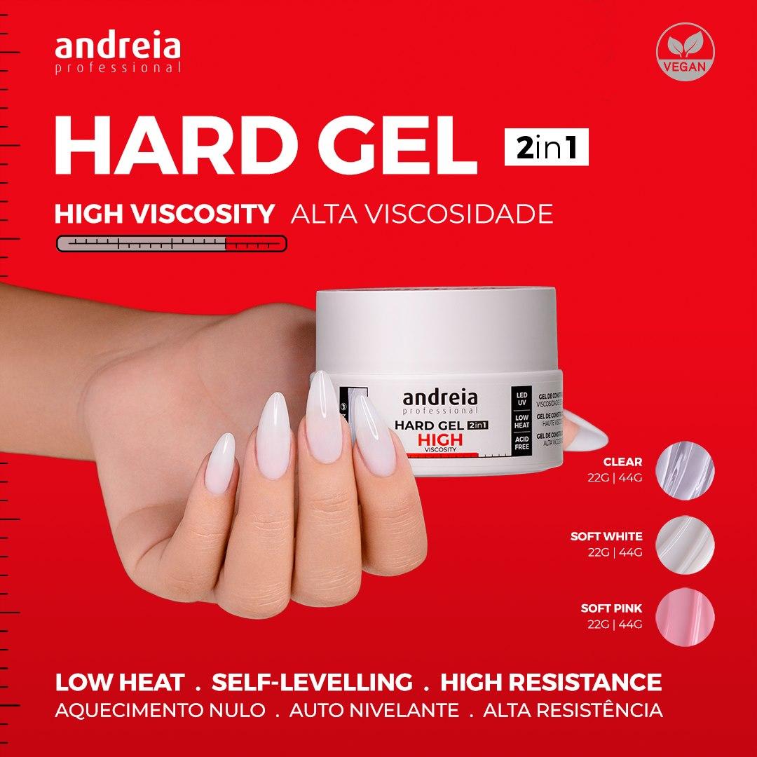Hard Gel Andreia High Viscosity