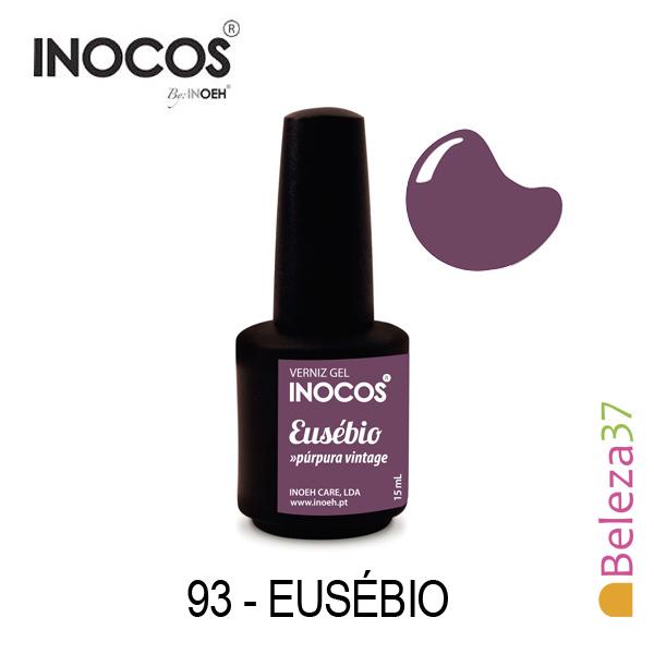 Verniz Gel Inocos 93 — Eusébio (Púrpura Vintage)