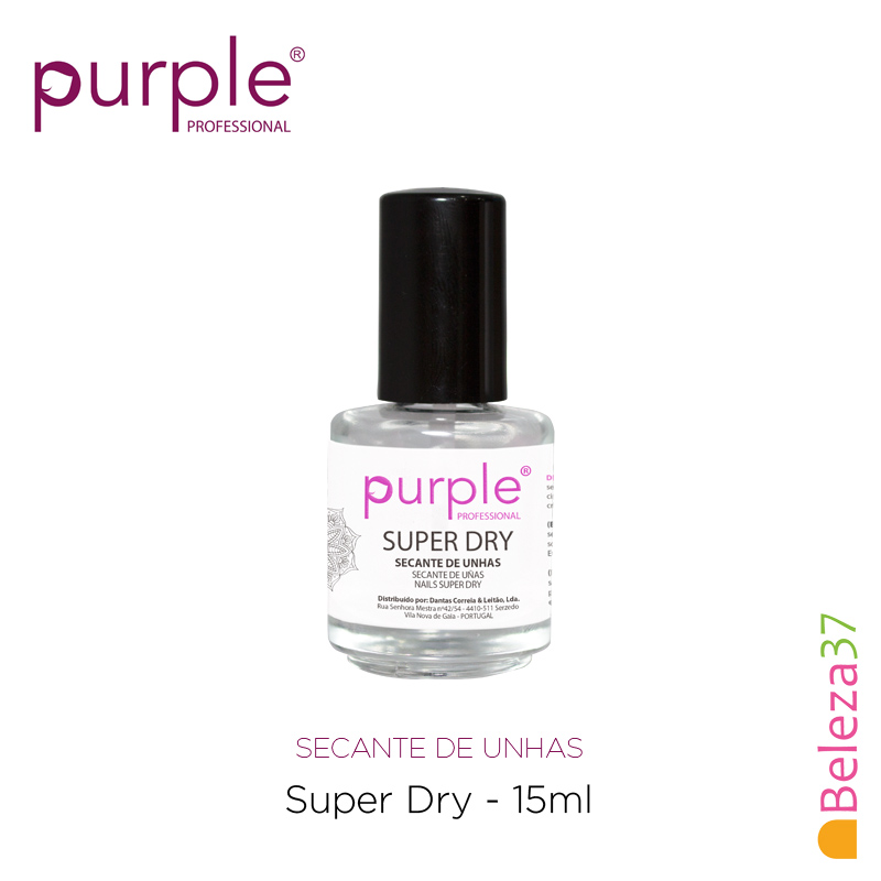 Super Dry Purple 15ml - Finalizante de Verniz