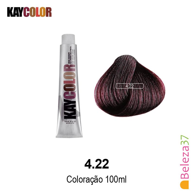 KayColor Coloração 100ml - Cor 4.22