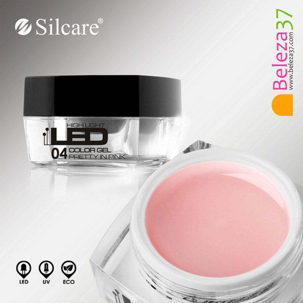 Gel High Light LED #04 – Pretty In Pink