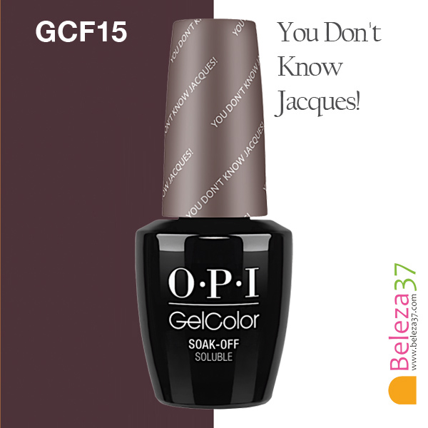 OPI GC F15 – You Don't Know Jacques!