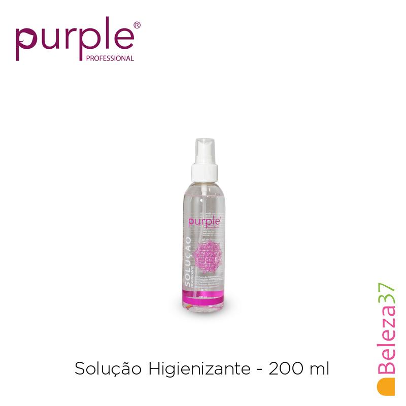 Solução Higienizante Purple 200ml