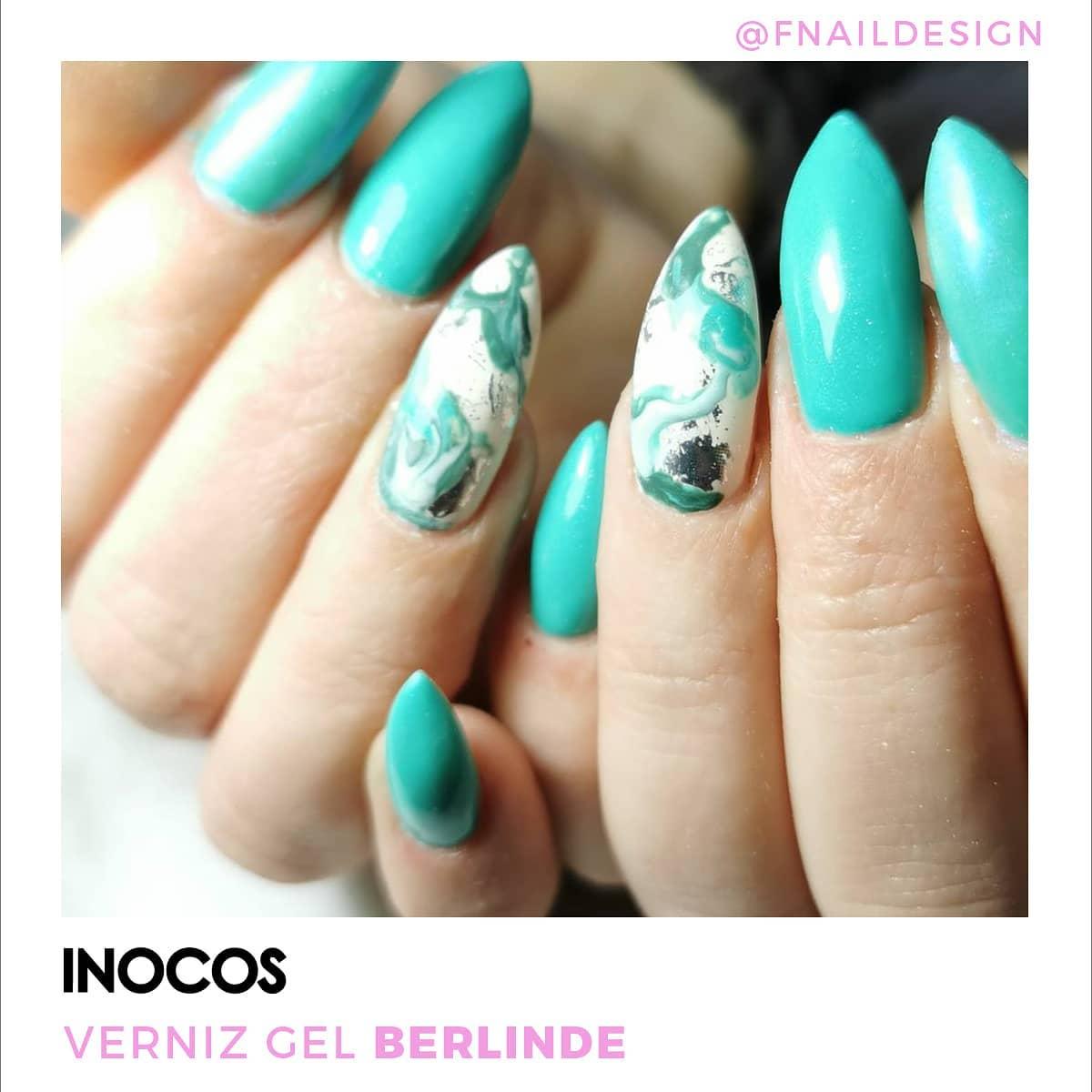 Verniz Gel Inocos 9 — Berlinde (Verde Menta)