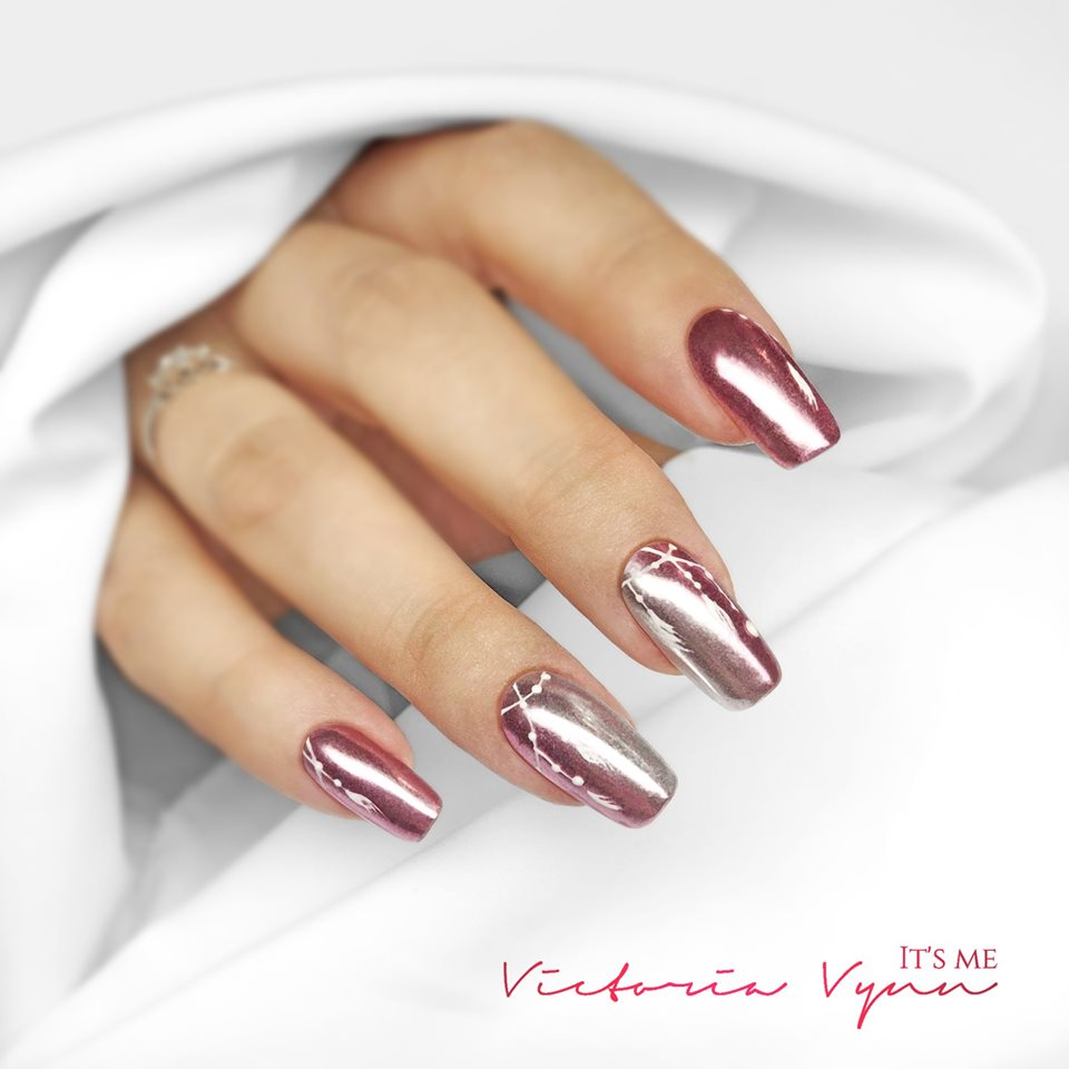 Art Dust Victoria Vynn 18 - ROSE GOLD (Metalizado)