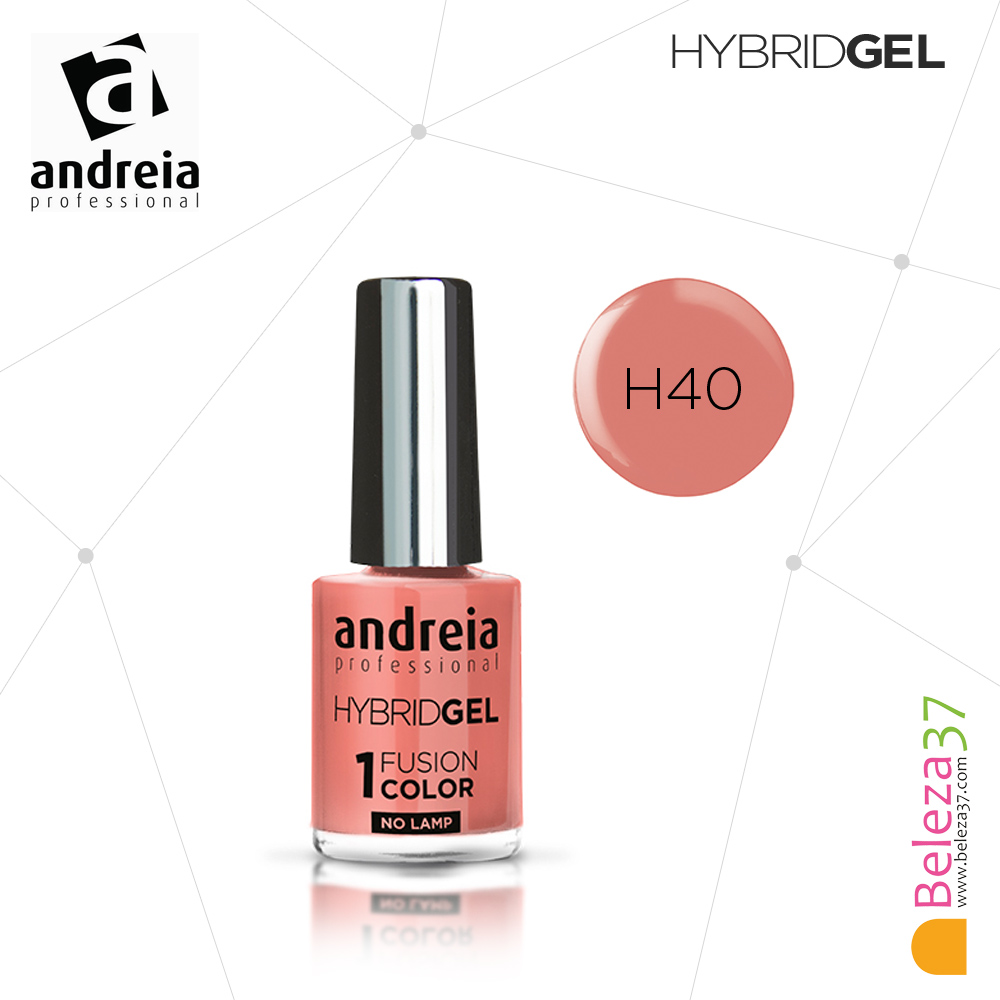 Hybrid Gel Andreia – Fusion Color H40