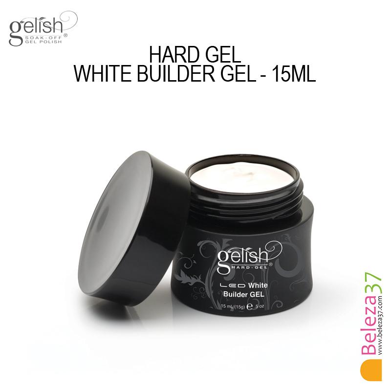 GELISH HARD GEL WHITE BUILDER GEL - 15ml