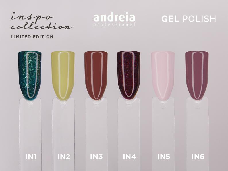 Verniz Gel Andreia – Inspo Collection (6 Cores)