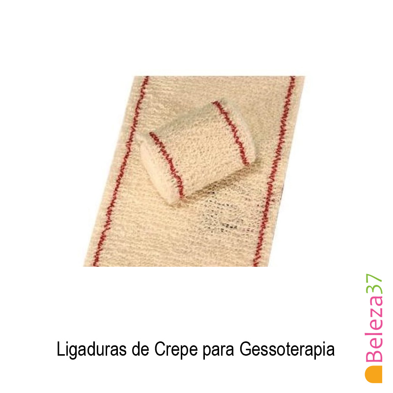 Ligadura de Crepe para Gessoterapia (4m x 15cm)