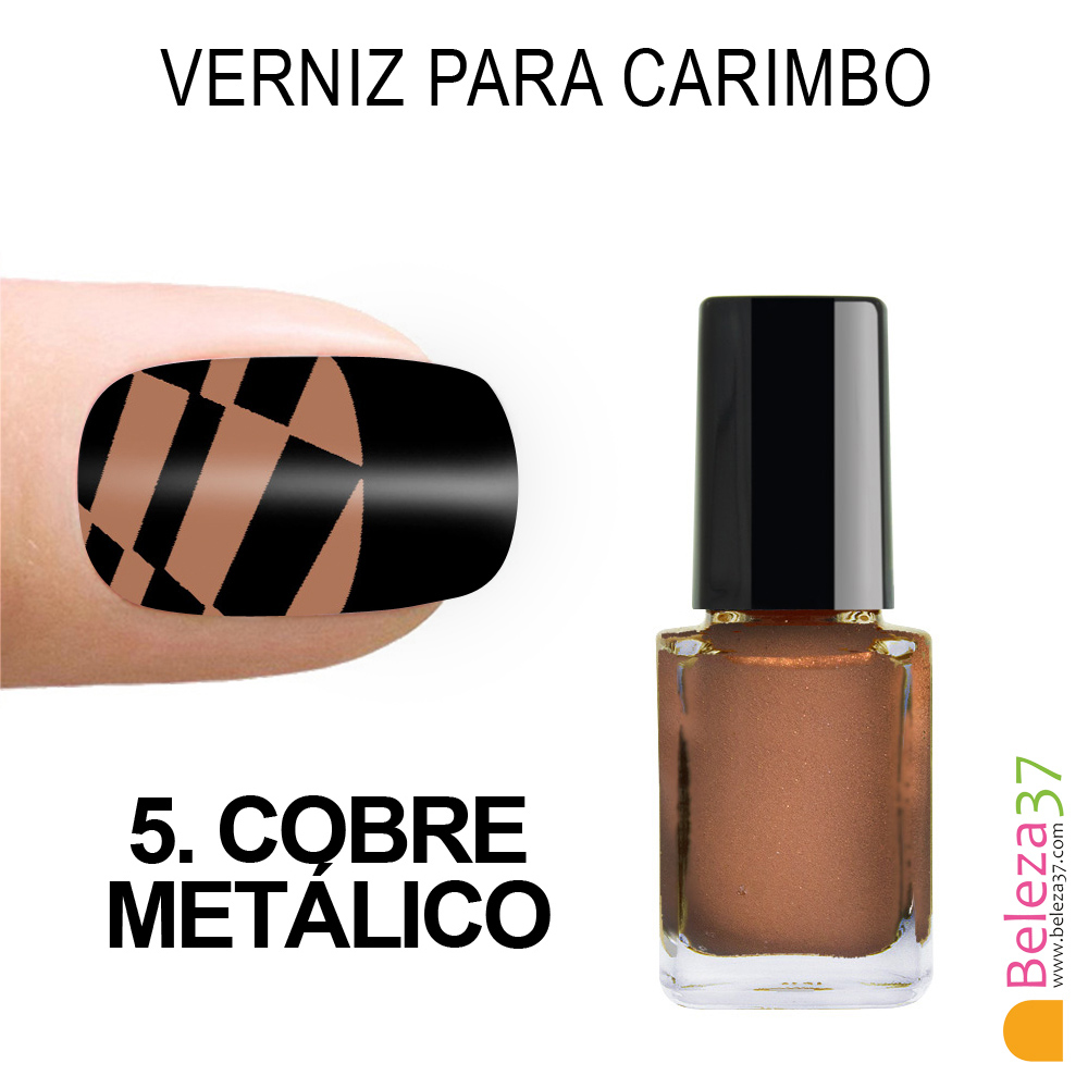 Verniz para Carimbo - 5. COBRE METÁLICO