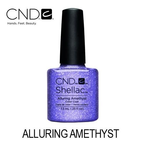 CND Shellac – Alluring Amethyst (Lilás com Glitter)