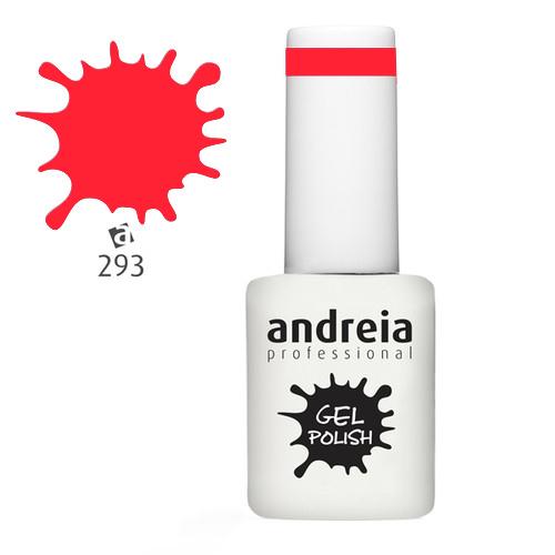 Verniz Gel Andreia 293 (Vermelho Coral)