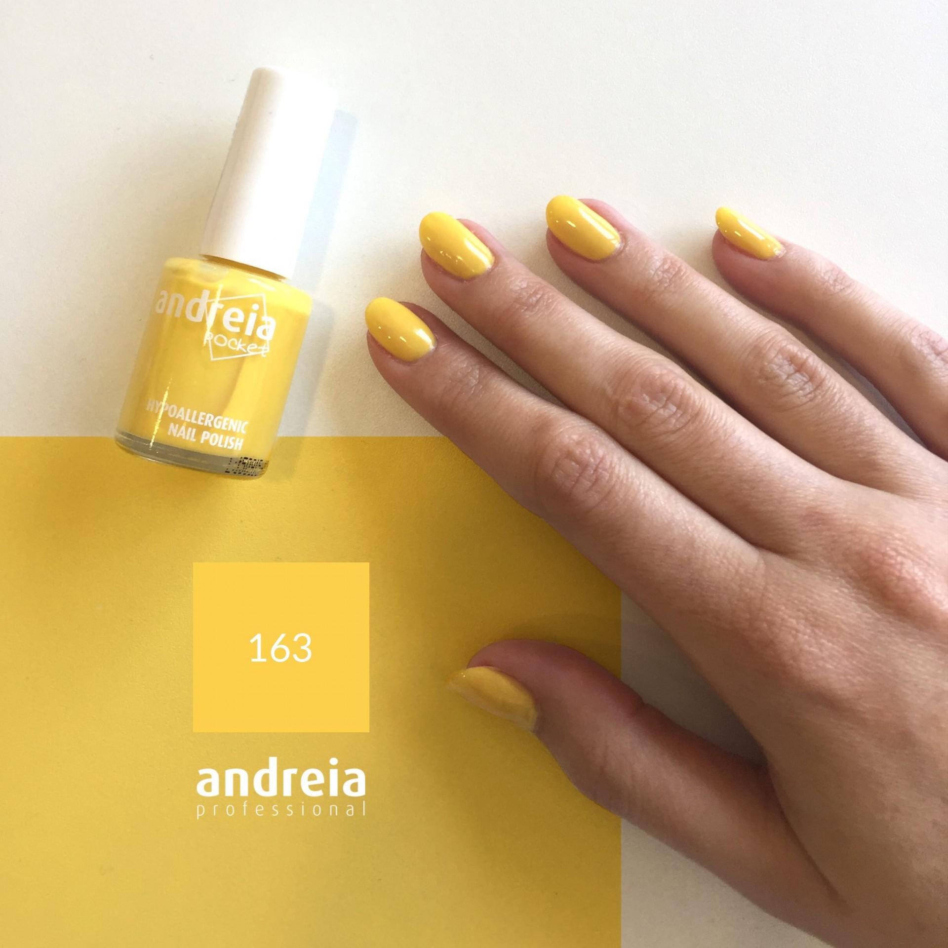 Verniz Andreia n.163 (Amarelo Canário)