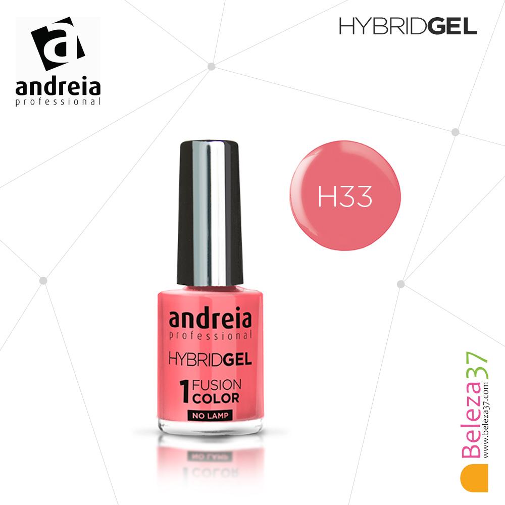 Hybrid Gel Andreia – Fusion Color H33