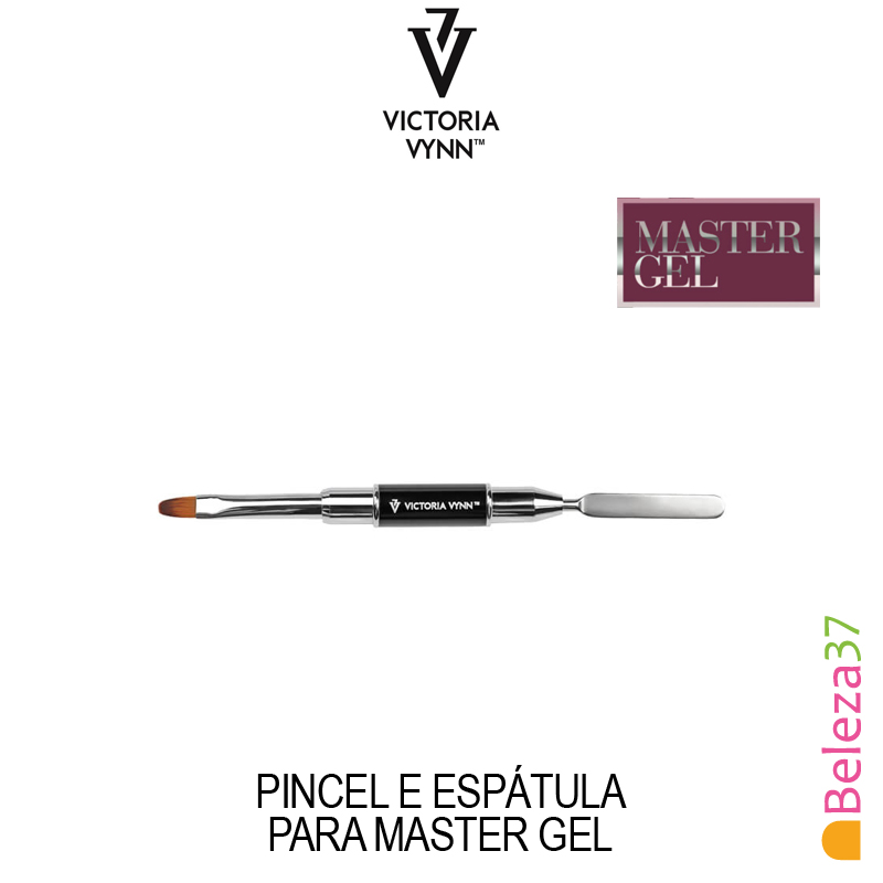 Pincel e Espátula para Master Gel da Victoria Vynn