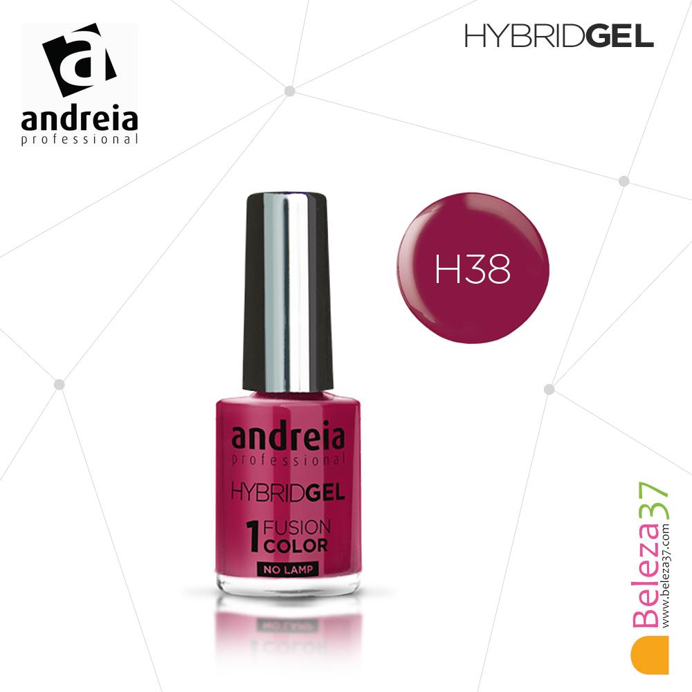 Hybrid Gel Andreia – Fusion Color H38