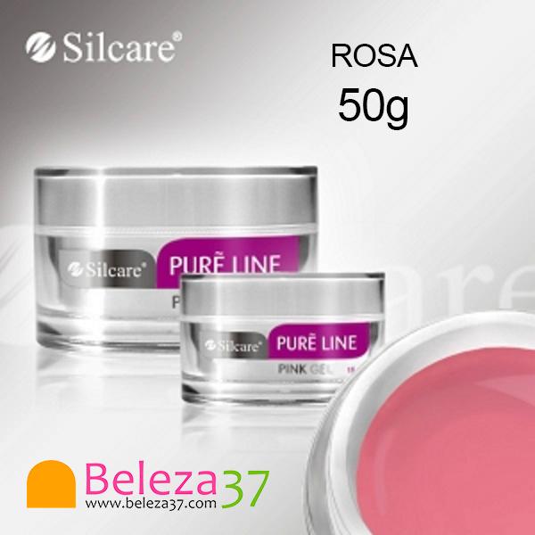 Gel de Construção Pure Line – Rosa Leitoso 50g
