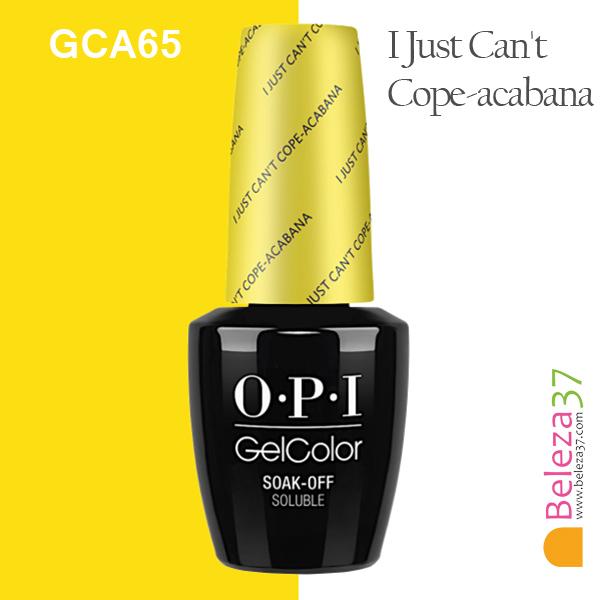 OPI GCA65 – I Just Can't Cope-acabana