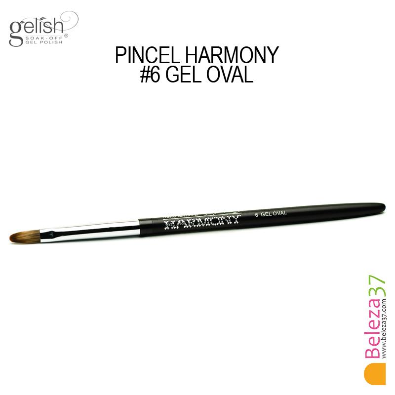 Pincel Harmony - #6 GEL OVAL
