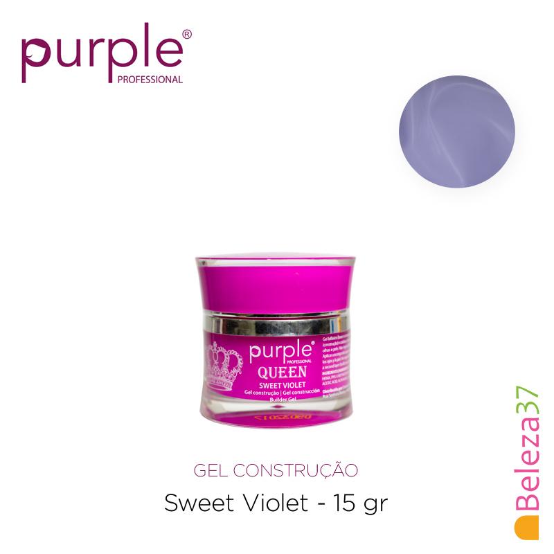 Gel Construtor Purple Queen Sweet Violet – Violeta 15g