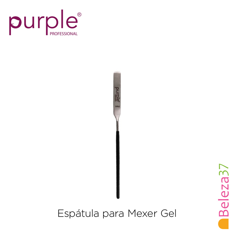 Espátula para Mexer Gel Purple