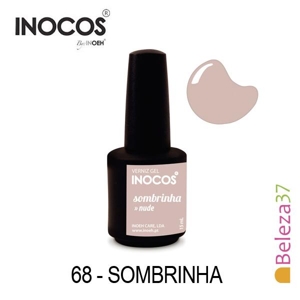 Verniz Gel Inocos 68 — Sombrinha (Nude)