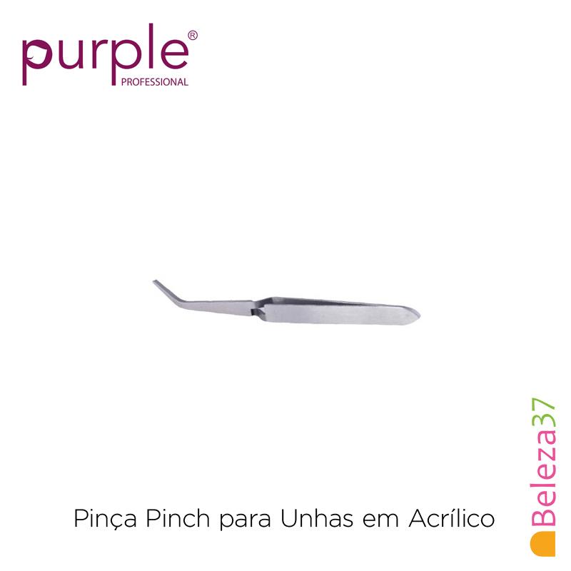 Pinça Pinch PURPLE para Unhas em Acrílico