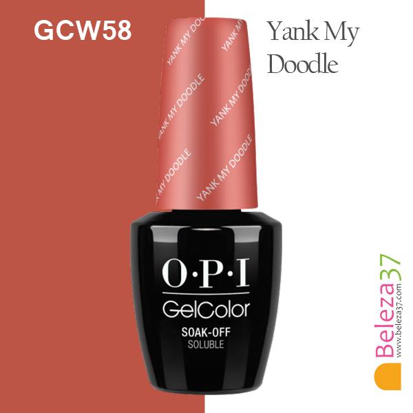 OPI GC W58 – Yank My Doodle