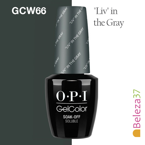 """OPI GC W66 - """"Liv"""" in the Gray"""
