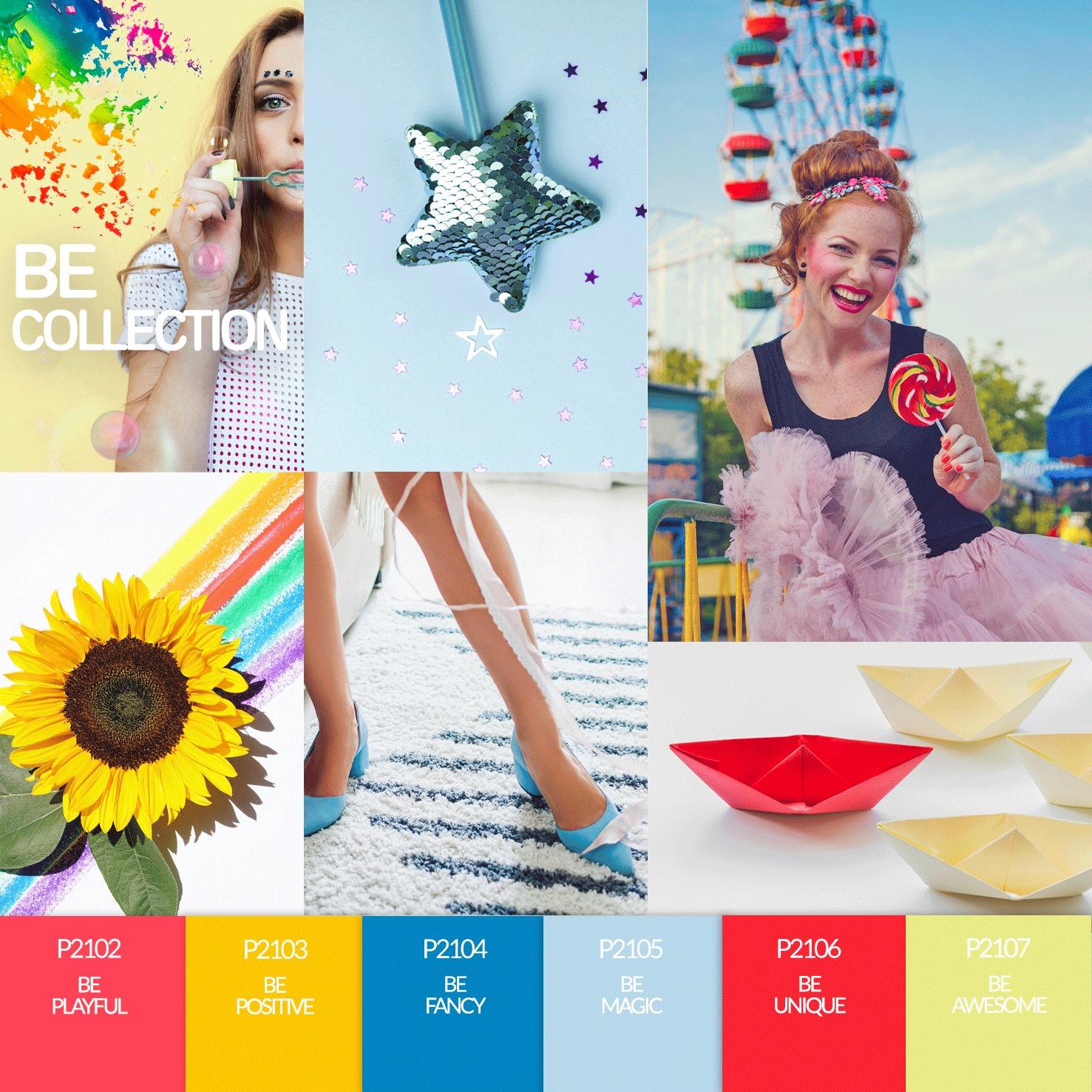 Coleção Verniz Gel PURPLE – Be Collection - PARTE II - 6 Cores (P2102 ao P2107)