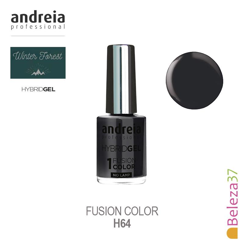 HYBRID GEL ANDREIA – Fusion Color - H64 (Cinza escuro)