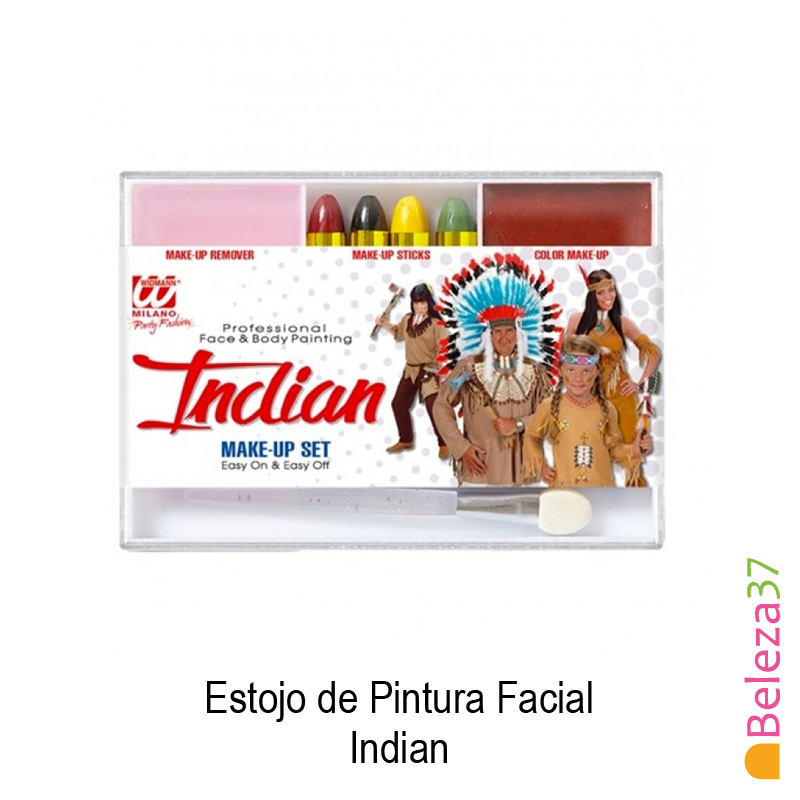 Estojo de Pintura Facial - 05 - Indian (Indio)