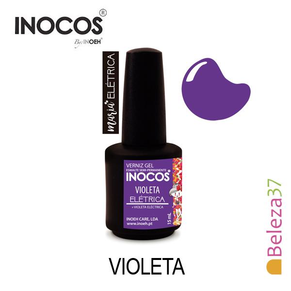 Verniz Gel Inocos 105 — Maria Elétrica Violeta