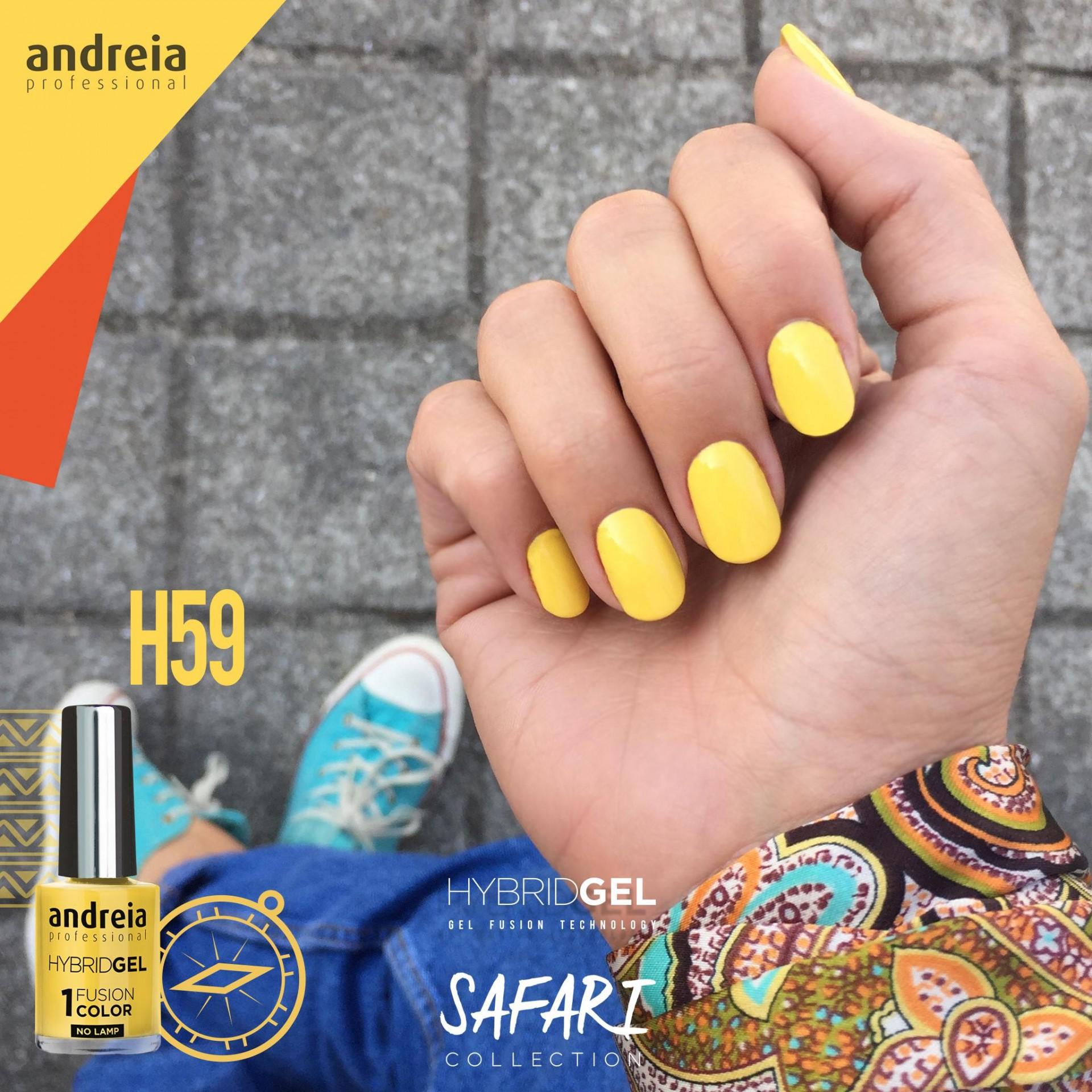 Hybrid Gel Andreia – Fusion Color H59 (Amarelo)