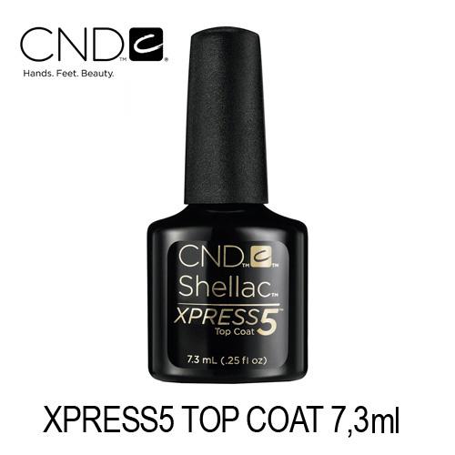 CND SHELLAC Xpress5 Top Coat 7,3ml