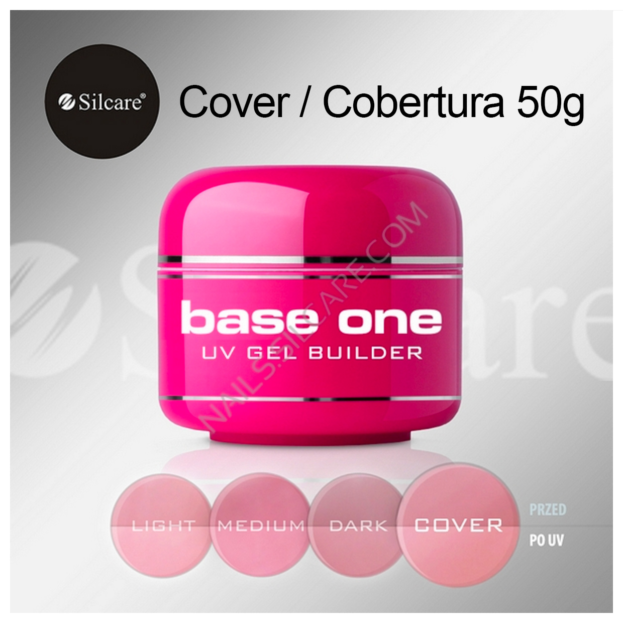 Gel de Construção Base One – Cover 50g