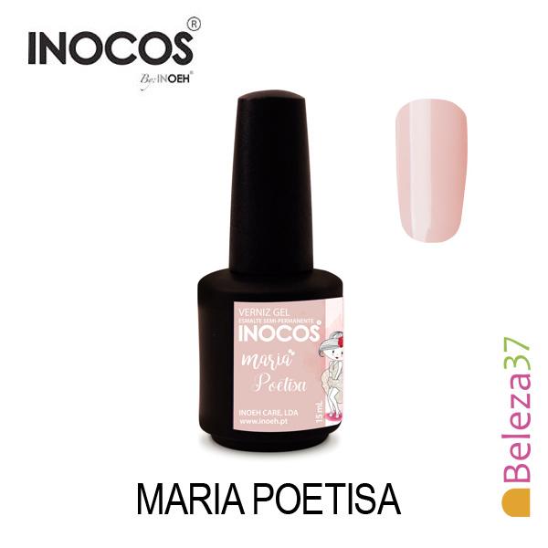 Verniz Gel Inocos 107 — Maria Poetisa (Nude)
