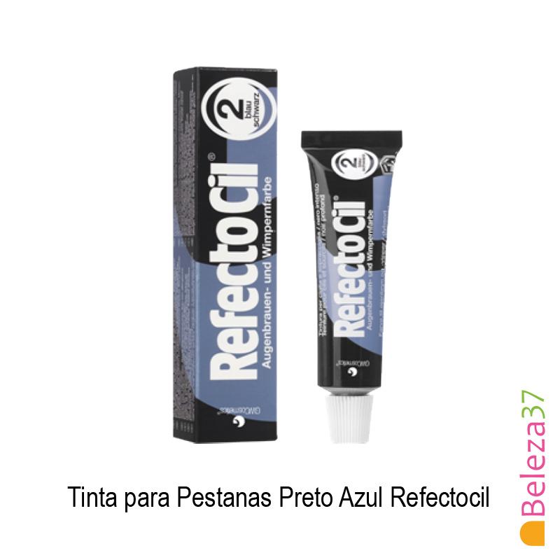 Tinta para Pestanas RefectoCil - Preto Azul