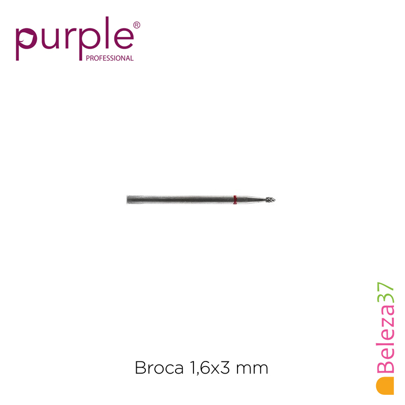 Broca de Carbono PURPLE 1,6x3mm
