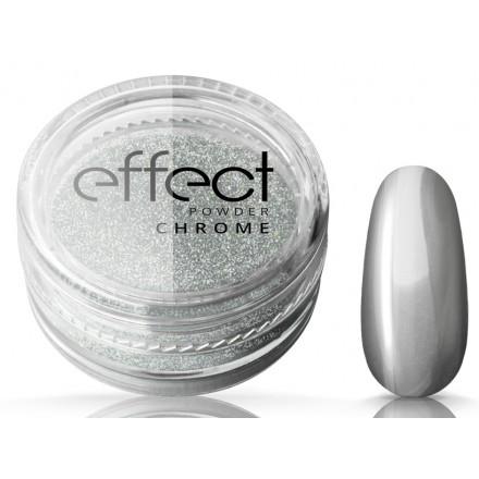 Pó de Efeito Silcare - Chrome