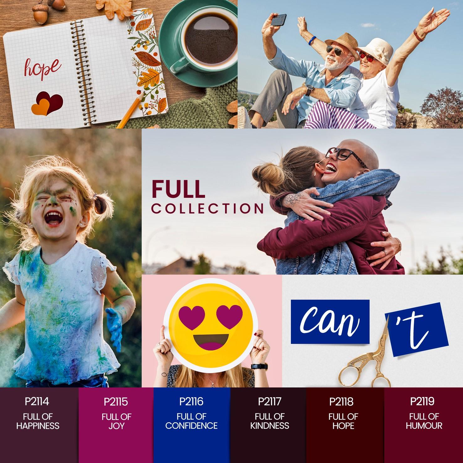 Coleção Verniz Gel PURPLE – Full Collection 6 cores (P2114 ao P2119)
