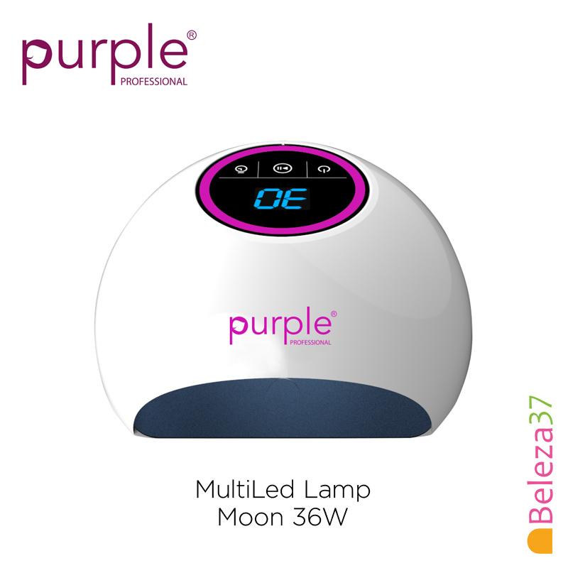 Catalisador Purple MultiLed Lamp Moon 36W