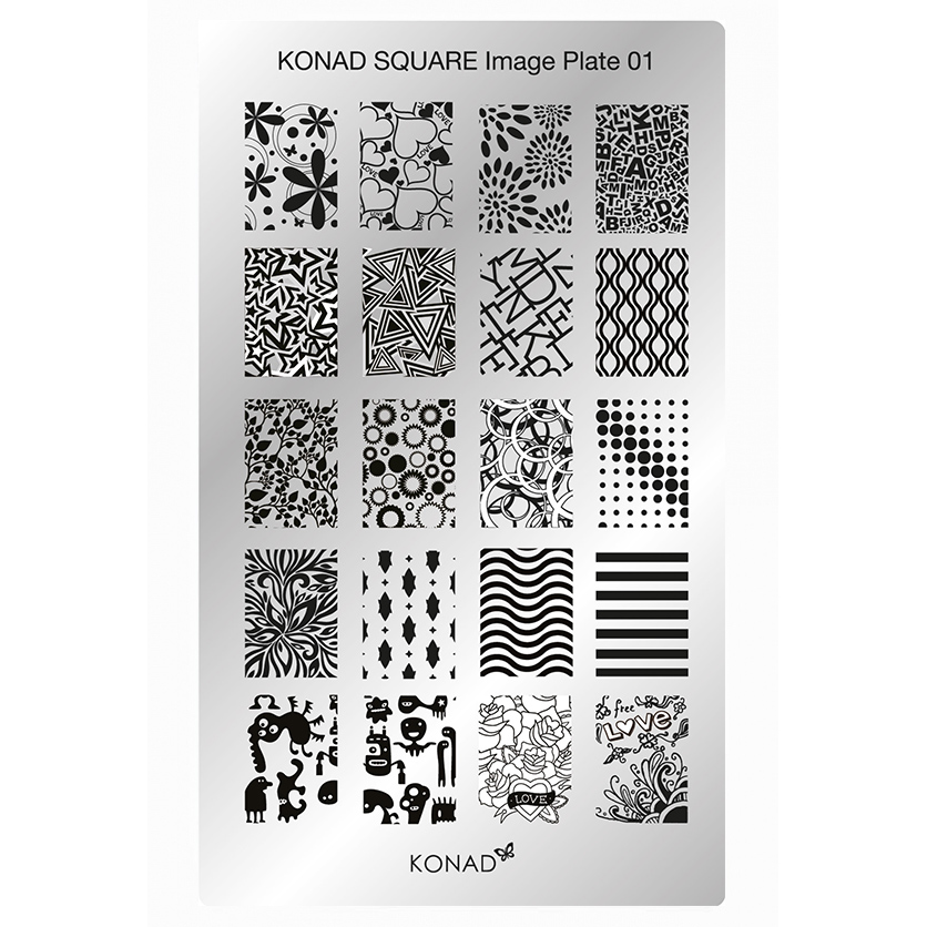 Chapa Retangular KONAD 01