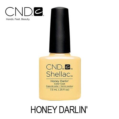 CND Shellac – Honey Darlin' (Amarelo Bebé)