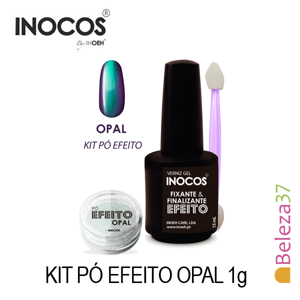Inocos — Kit Pó Efeito Opal 1g
